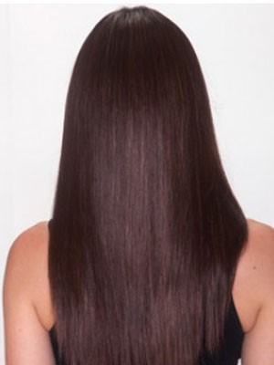 Synthetic Straight Fashionable Lace Front Wig - Image 4