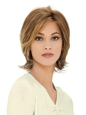 Attractive Looking Good Capless Wavy Flexibility Wig - Image 1