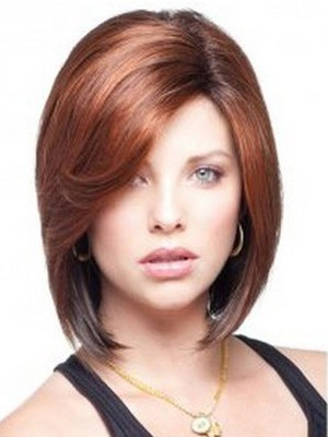 Fashion Straight Short Human Hair Bob Wig - Image 2