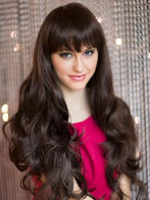Wavy Gorgeous Synthetic Capless Wig - Image 1