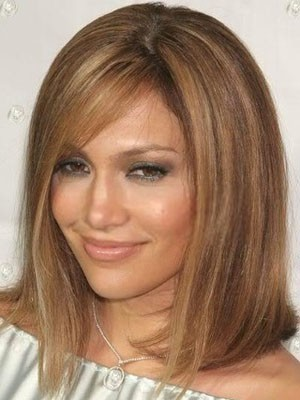 Good Looking Straight Human Hair Lace Front Wig - Image 1