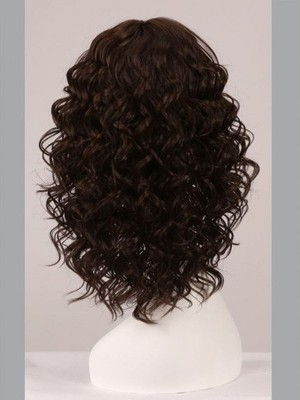 Capless 16 Inch Beautiful Wavy Comfortable Wig - Image 4