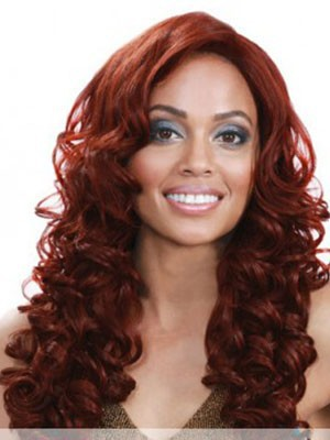 Wavy Synthetic Stylish Lace Front Wig - Image 1