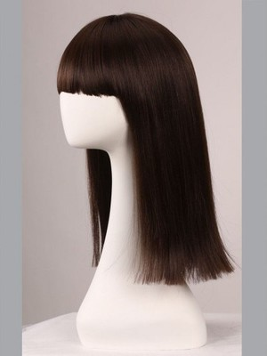 Straight 18 Inch Capless Classic Cheapest Wig - Image 3