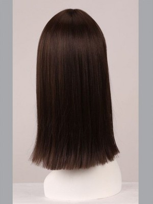 Straight 18 Inch Capless Classic Cheapest Wig - Image 4
