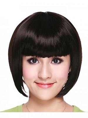 Synthetic High Quality Bob Style Straight Wig - Image 1
