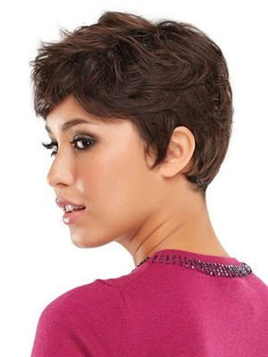 Straight Boy Cut Attractive Human Hair Wig - Image 4