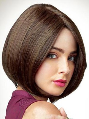 Capless Straight Most Popular Remy Human Hair Wig - Image 1