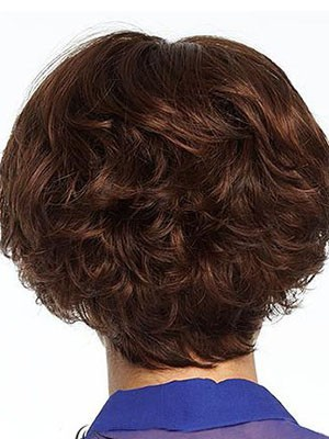 Nice-looking Wavy Human Hair Capless Wig - Image 3