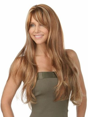 Capless Long Wavy Gorgeous Synthetic Wig - Image 2