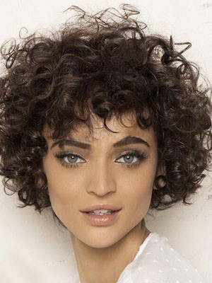 Full Lace Curly Remy Human Hair Wig - Image 1