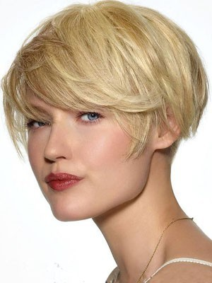 Straight Human Hair Pleasant Capless Wig - Image 1