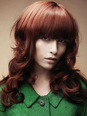 Capless Marvelous Synthetic Wavy Wig - Image 1