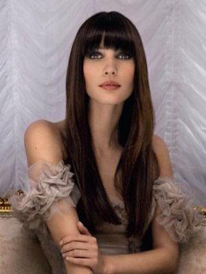 Attractive Straight Human Hair Capless Wig - Image 1