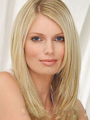 Lace Front Straight Human Hair Wig - Image 1