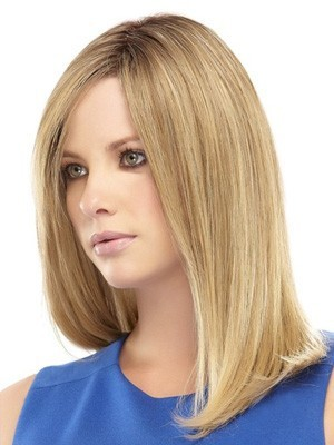 "Lace Front 16"" Romantic Straight Remy Human Hair Wig - Image 3"