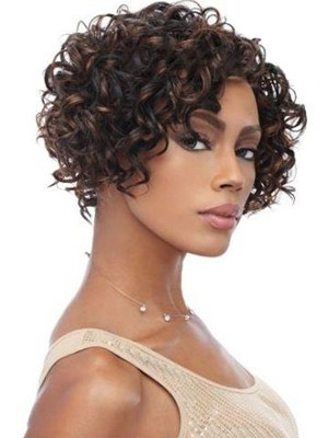Synthetic Curly Natural Capless Wig - Image 1