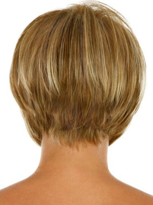 Modern Short Capless Synthetic Wig - Image 3
