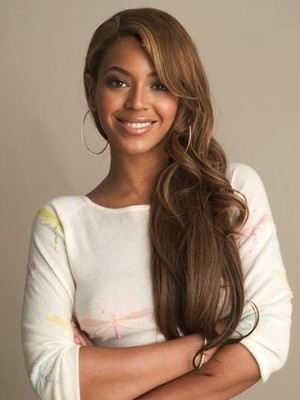 Beyonce Free Style Full Lace Long Wavy Celebrity Wig - Image 1
