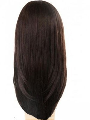 Lace Front Pretty Synthetic Straight Wig - Image 3