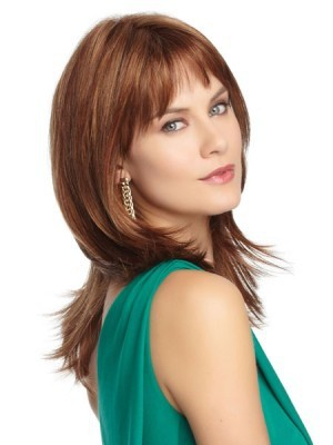 Straight Lace Front Charming Soft Remy Human Hair Wig - Image 2