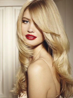 Human Hair Lace Front Gorgeous Long Wig - Image 1