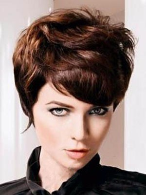 Remy Human Hair Elegant Wavy Capless Wig - Image 1