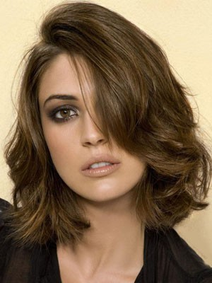 Length Medium Human Hair Most Popular Lace Front Wig - Image 1