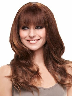 Cute Lace Front Wavy Long Remy Human Hiar Wig - Image 3