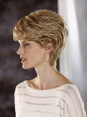 Lace Front All Over Wavy Charming Synthetic Wig - Image 4