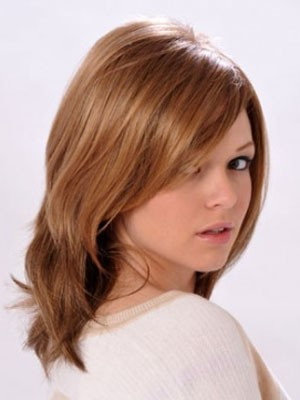Short Synthetic Capless Straight Wig - Image 2