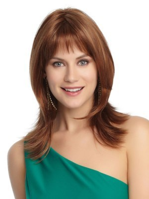 Straight Lace Front Charming Soft Remy Human Hair Wig - Image 1