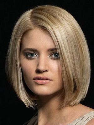 Attractive Straight Lace Front Remy Human Hair Wig - Image 1