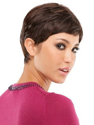 Straight Boy Cut Attractive Human Hair Wig - Image 3