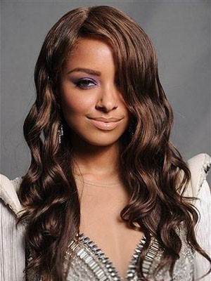 Lace Front Wavy Gorgeous Synthetic Wig - Image 1