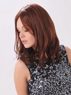 Long Awesome Modern Wavy Human Hair Lace Front Wig - Image 2