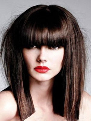 Straight Pretty Synthetic Capless Wig - Image 1