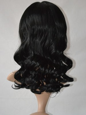 Capless Synthetic Stunning Wavy Wig - Image 3