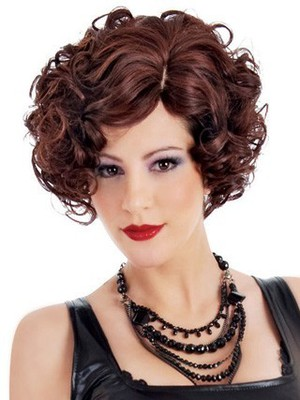 Christina New Style Side Swept Synthetic Wig - Image 2