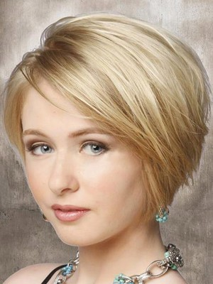 Straight Lace Short Front Elegante Synthetic Wig - Image 2