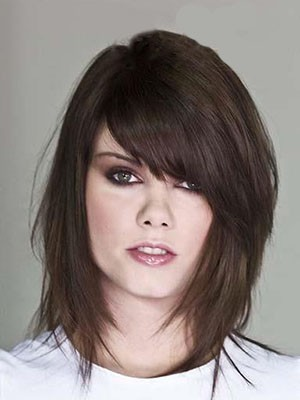 Synthetic Attractive Straight Capless Wig - Image 1