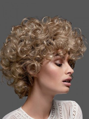 Curly Lace Front Most Popular Synthetic Wig - Image 1