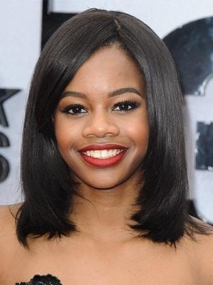 Most Popular Lace Front Synthetic Straight Wig - Image 1
