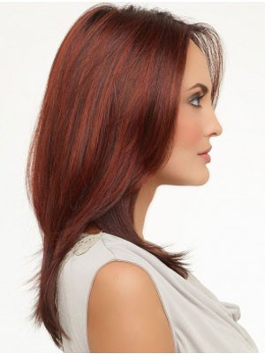 Impressive Lace Front Synthetic Straight Wig - Image 2