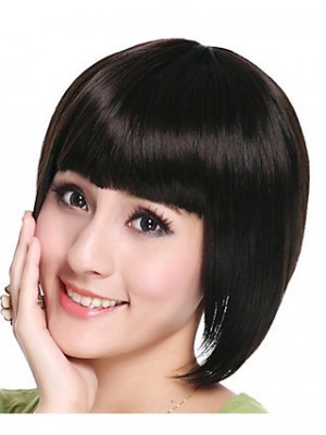 Synthetic High Quality Bob Style Straight Wig - Image 2