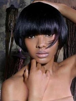 Synthetic Gorgeous Straight Capless Wig - Image 1