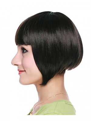 Synthetic High Quality Bob Style Straight Wig - Image 3