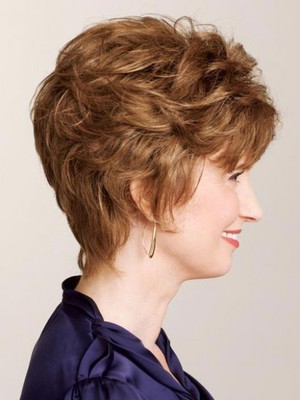 Short Curly Classic Human Hair Wig - Image 3