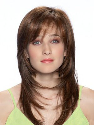 Straight Popular Synthetic Capless Wig - Image 2