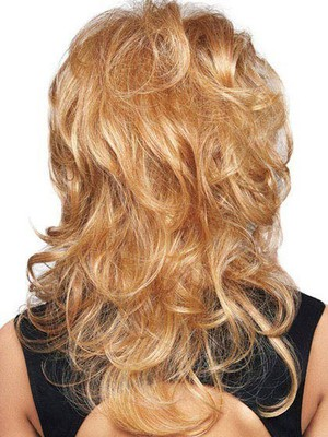 Wavy Looking Good Lace Front Layers Bombshell Style Wig - Image 4